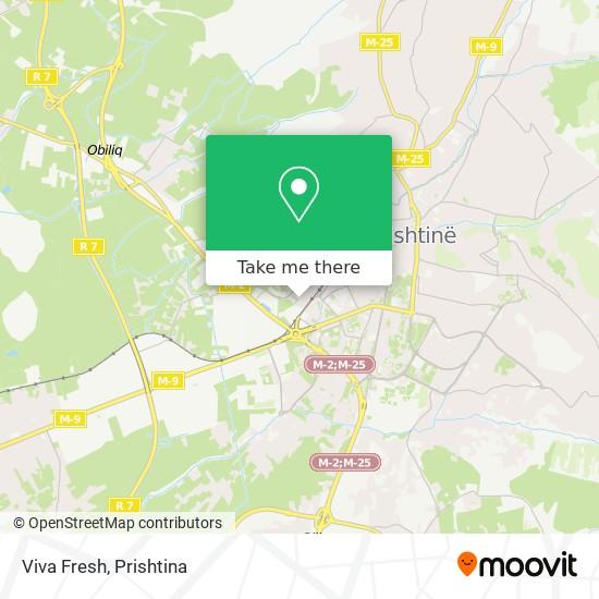 Viva Fresh map