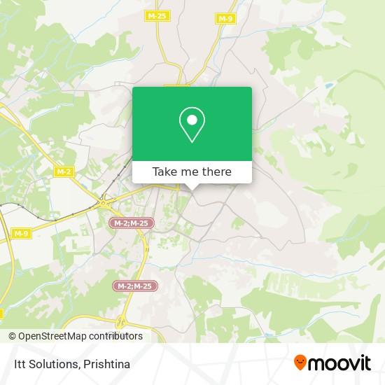 Itt Solutions map