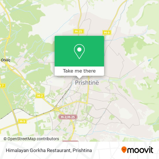 Himalayan Gorkha Restaurant map