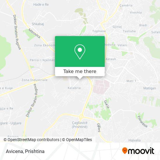 Avicena map