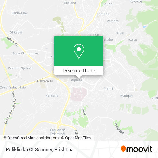 Poliklinika Ct Scanner map