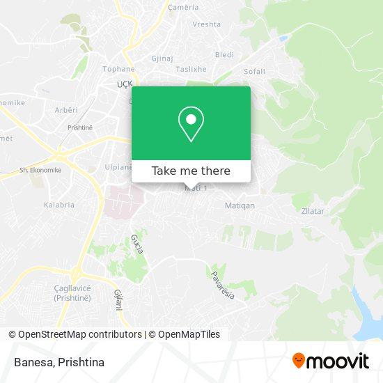 Banesa map