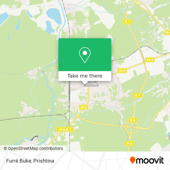 Furrë Buke map