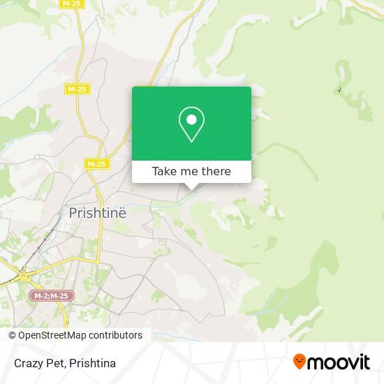 Crazy Pet map
