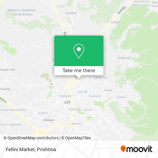 Fellini Market map