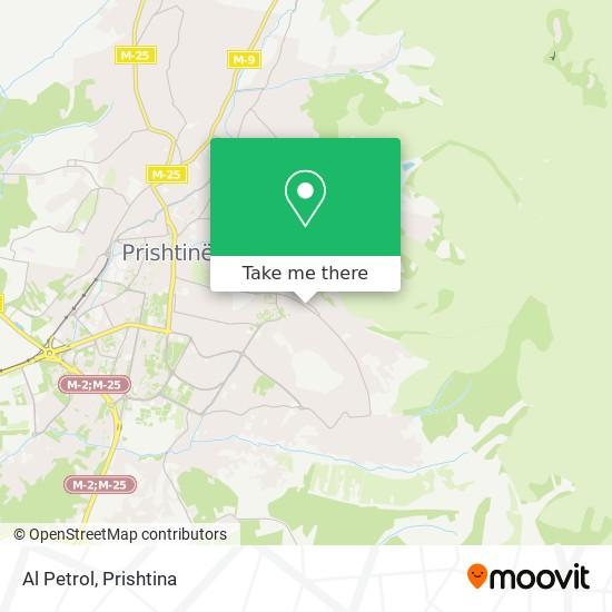 Al Petrol map