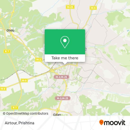 Airtour map