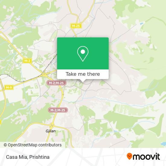 Casa Mia map