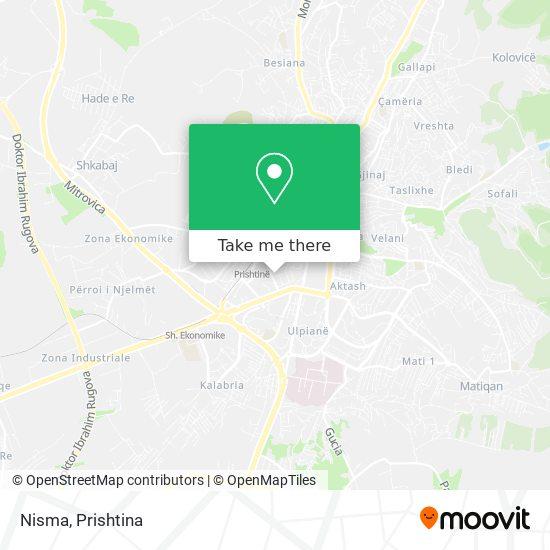 Nisma map