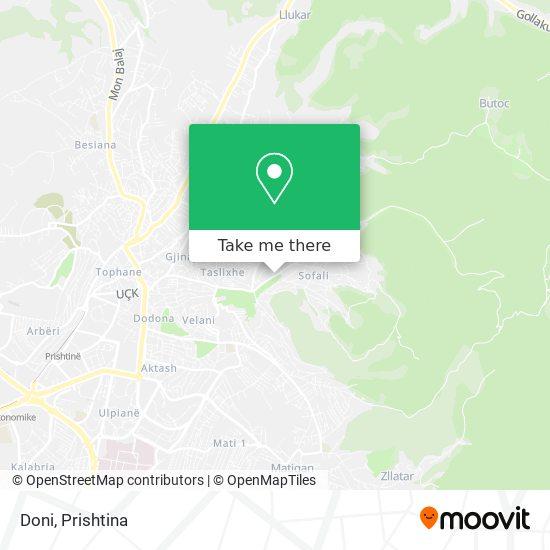 Doni map
