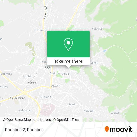Prishtina 2 map