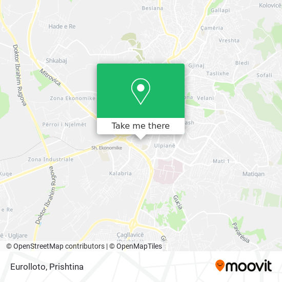 Eurolloto map