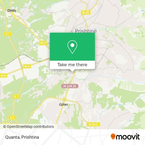 Quanta map