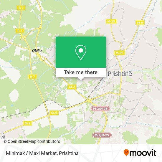 Minimax / Maxi Market map