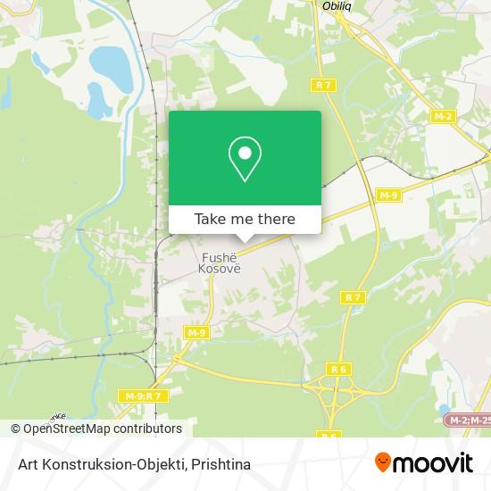 Art Konstruksion-Objekti map