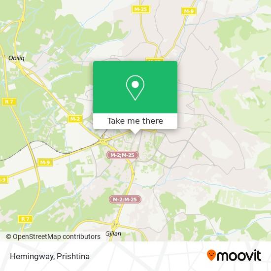 Hemingway map