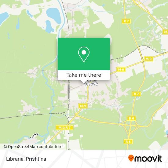 Libraria map
