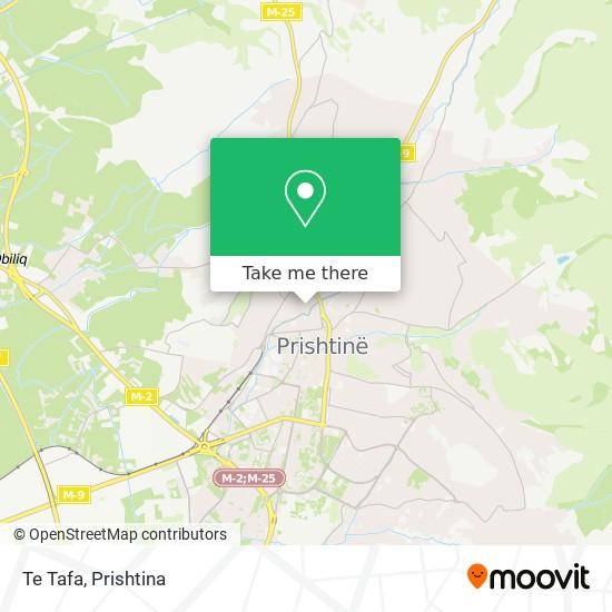 Te Tafa map