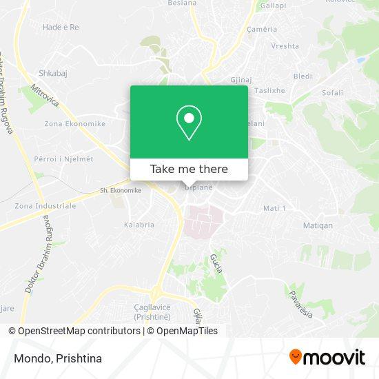 Mondo map