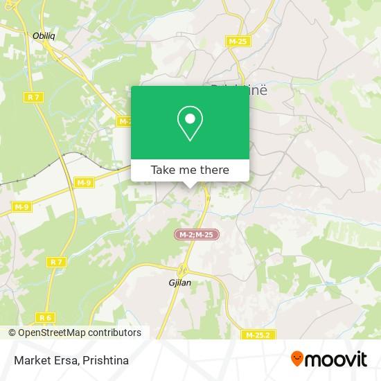 Market Ersa map