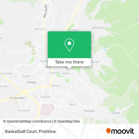 Basketball Court map