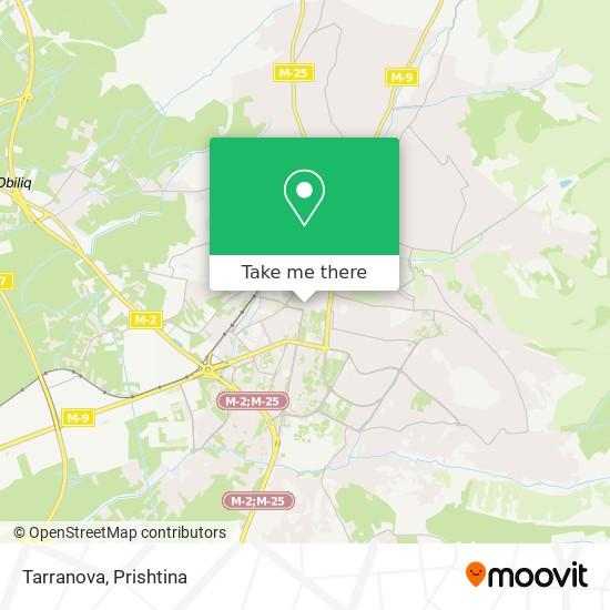 Tarranova map