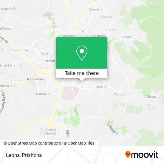 Leona map