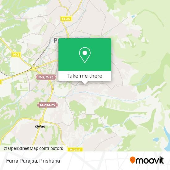Furra Parajsa map