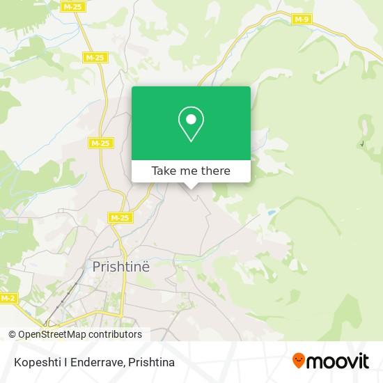 Kopeshti I Enderrave map