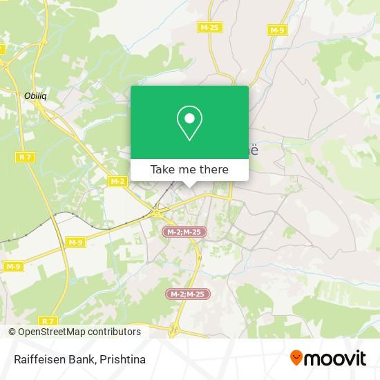 Raiffeisen Bank map