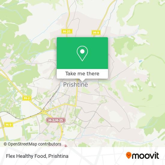Flex Healthy Food map