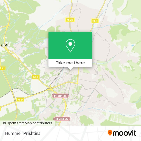 Hummel map
