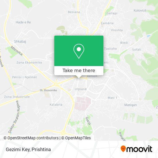 Gezimi Key map