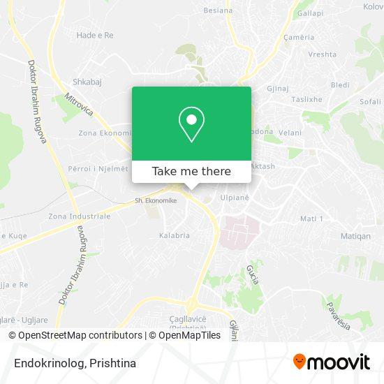 Endokrinolog map