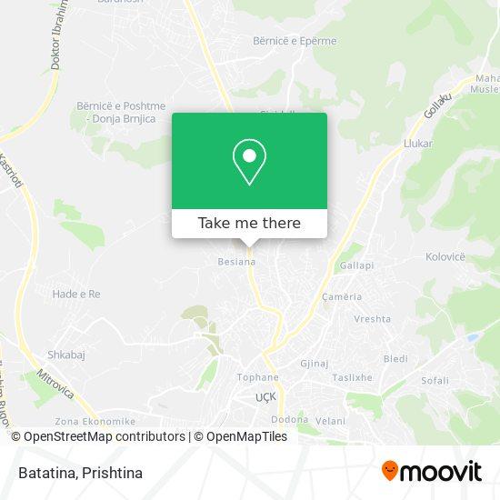 Batatina map