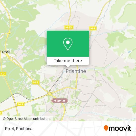 Pro4 map