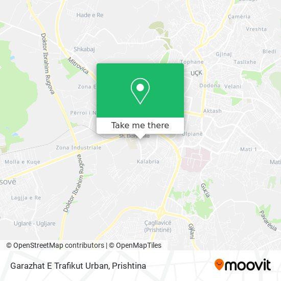 Garazhat E Trafikut Urban map