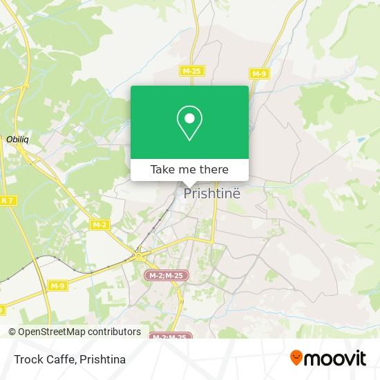 Trock Caffe map