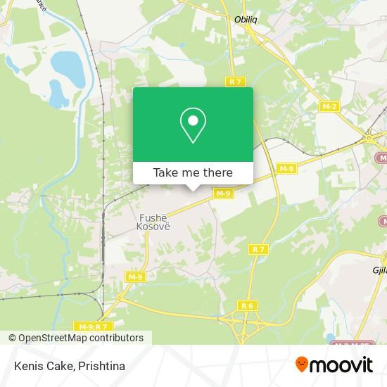 Kenis Cake map