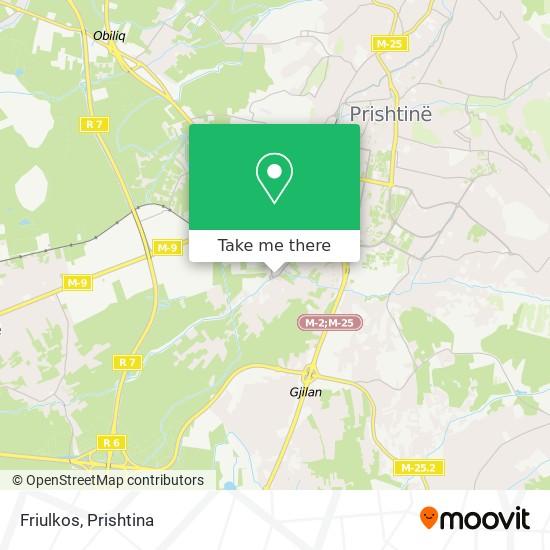 Friulkos map
