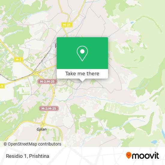 Residio 1 map
