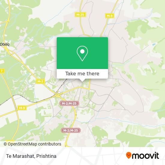 Te Marashat map