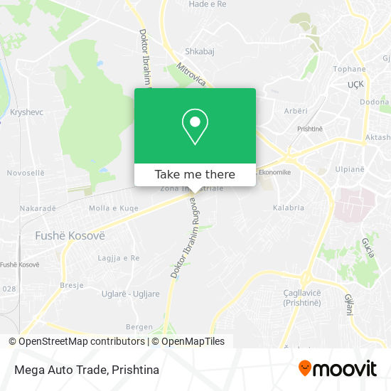 Mega Auto Trade map