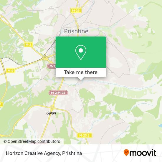 Horizon Creative Agency map