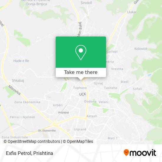 Exfis Petrol map