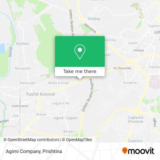 Agimi Company map