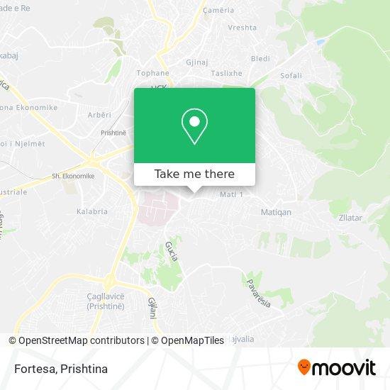 Fortesa map