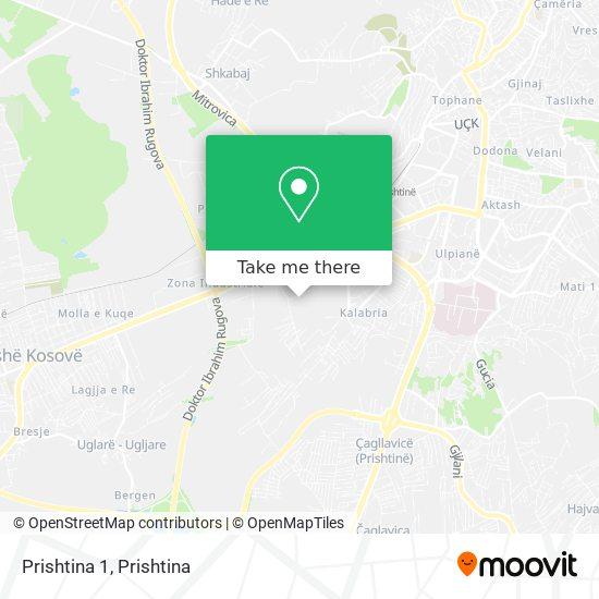 Prishtina 1 map