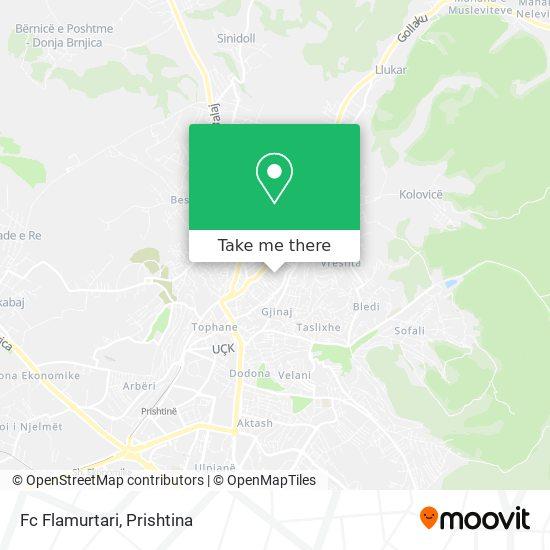 Fc Flamurtari map
