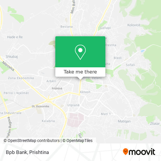 Bpb Bank map